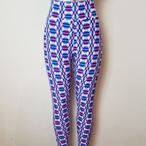 LULAROE Colorful Print Leggings